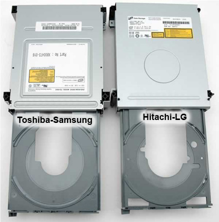 Xbox 360 DVD Drive Database - How To Guide